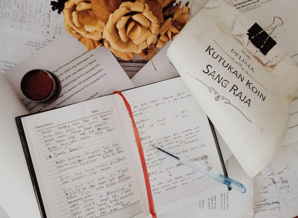 Draft Pertama Novel Delima